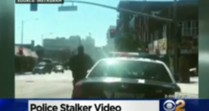 Why a 15-second rap video set Los Angeles police on edge