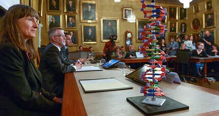 Scientists win chemistry Nobel for DNA repair studies