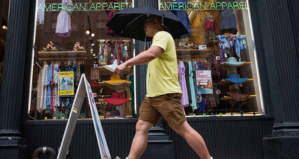 Can bankrupt American Apparel stay American?