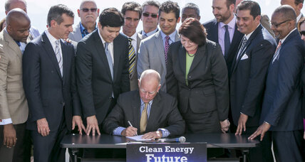 California enacts monumental climate change goals
