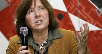 Nobel prize for literature: Who is Svetlana Alexievich?