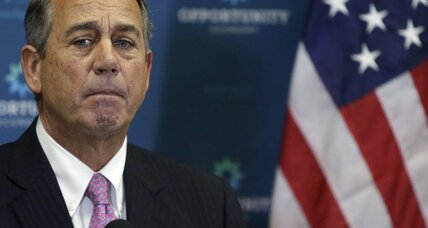 John Boehner as John Wayne: Does the speaker have one last hurrah?