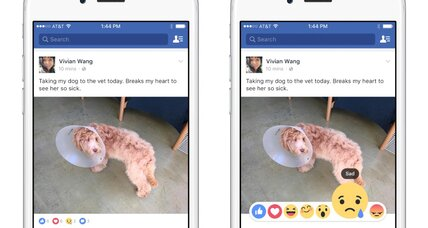 Facebook's big conundrum: How to express reactions other than 'like'