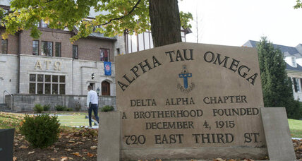 Indiana fraternity hazing video shows social media's positive impact