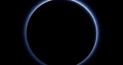 Blue skies and water-ice: How similar are Earth and Pluto?