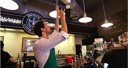 Starbucks office delivery: Just another way to keep workers at their desks?
