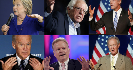 Democratic debate: What Clinton, Sanders, and the rest need to prove (+video)