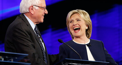 What e-mails? Republicans lose as Sanders and Clinton play nice in debate.