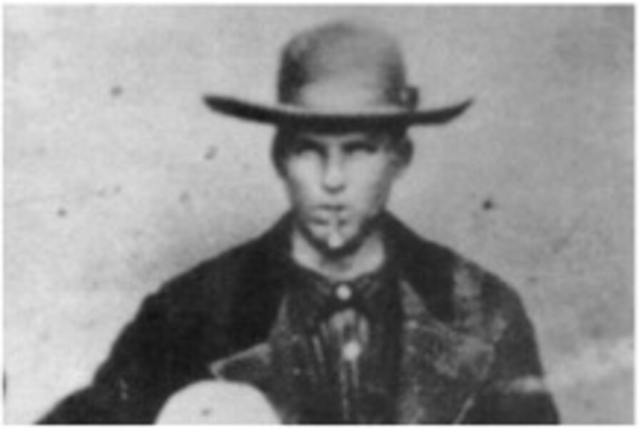 Billy the Kid photo goes from ...