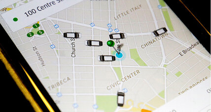 Will Uber shake up the courier industry?