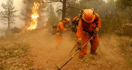 Violent inmates have fought California fires for decades – and done well