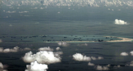 US naval chief asserts navigation rights in contested South China Sea