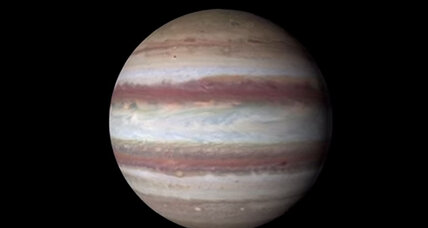 Check out this spectacular video of Jupiter's shrinking Great Red Spot