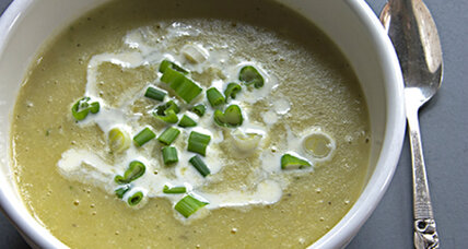 Savoy cabbage and potato soup