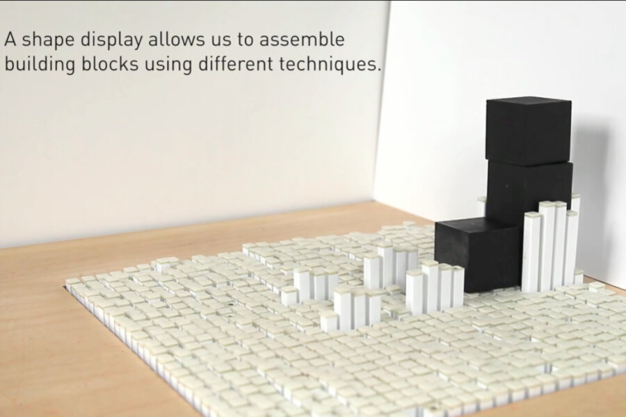 MIT's shapeshifting 'Kinetic Blocks' can learn from humans