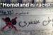 Is 'Homeland' racist? Street artists sneak 'graffiti bomb' past producers