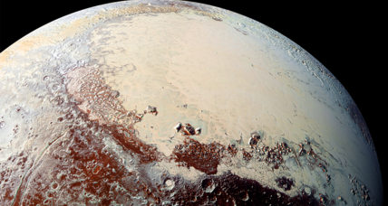 Pluto: A mountainous, flat, frozen, and diverse world