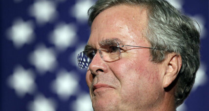 Jeb Bush's dip in the polls comes with drop in donations