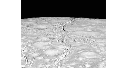 Spectacular photos of Saturn's icy moon Enceladus captured by Cassini