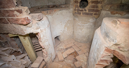 Thomas Jefferson's chemistry lab found at UVA's Rotunda