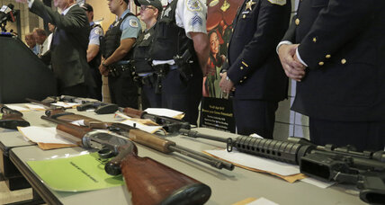 Chicago mayor to invest $250,000 in gun buyback events. Will it work? (+video)