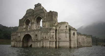 Out of the depths: Ruins of 16th century church emerge from Mexican reservoir