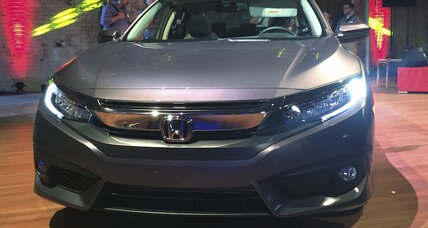 2016 Honda Civic revealed: 35 combined mpg starting at $19,475