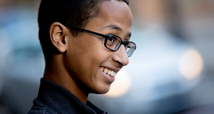 Where next for Ahmed the 'Clock Kid' – Mars?