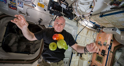 NASA astronaut sets US spaceflight duration record