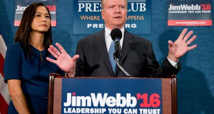 Jim Webb quits the Democratic race: Will he run as an independent?