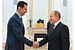 Russia-Syria alliance strengthened over dinner in Moscow