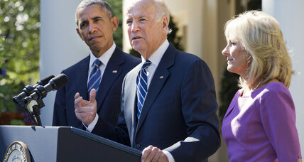 VP Biden says he won't run for president