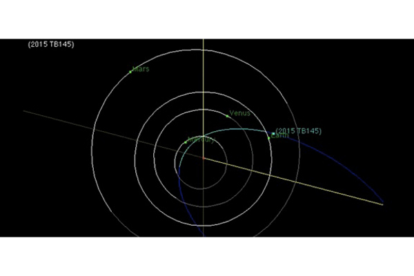 Spooky the Asteroid to hurtle past Earth on Halloween - CSMonitor.com