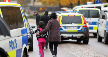 Two dead after stabbing attack at Swedish school
