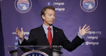 Rand Paul's support among Republican men plummets