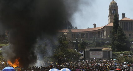 Despite tuition victory, deep grievances linger among South African students