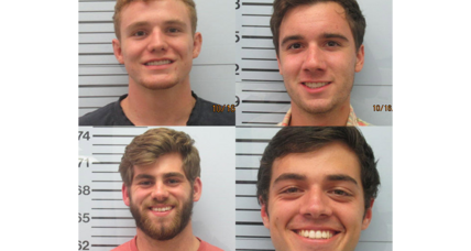 Beating suspects' smiling mugshots shock Ole Miss community