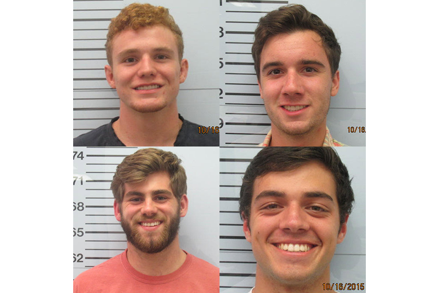 Beating suspects' smiling mugshots shock Ole Miss community