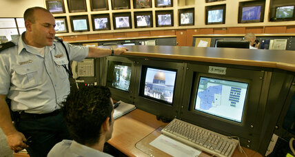 Can surveillance cameras ease the Israeli-Palestinian conflict?