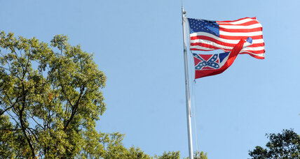 Ole Miss has lowered the Mississippi state flag for good
