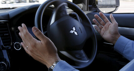 Mitsubishi's answer to driverless cars? Helping human drivers.