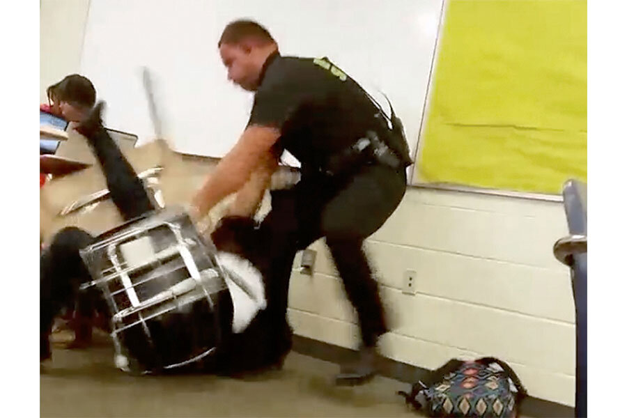Baltimore video sheds new light on police violence in schools