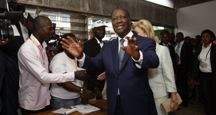 Ivory Coast President Ouattara easily wins re-election