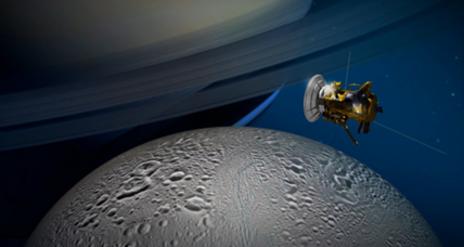 What's under the ice of this Saturn moon? Daring NASA flyby to find out.
