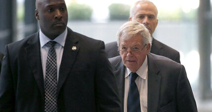 Dennis Hastert's guilty plea could keep scandal details out of public view (+video)
