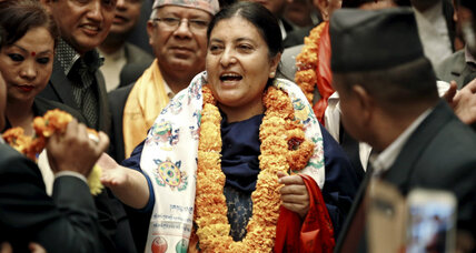 Nepal elects first female president, but gender equity remains elusive