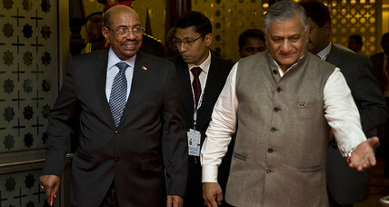 India dilemma: Arrest Sudan's Bashir and irk Africa, or ignore the ICC?