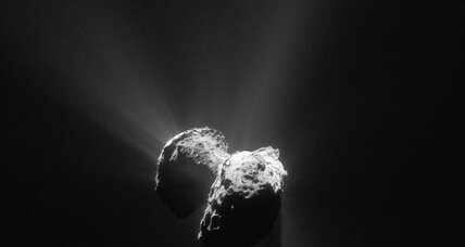 Oxygen found around comet may make us rethink our entire solar system