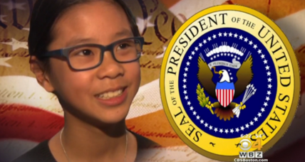 Should international adoptees be eligible for president? This 10-year-old thinks so.