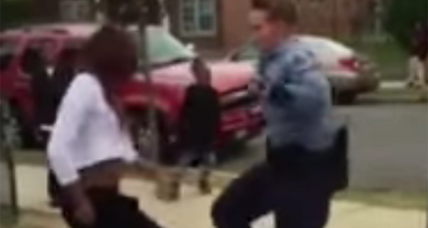 D.C. cop ends up in epic dance-off with teen after breaking up fight (+video)